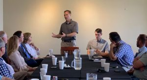 Congressman Michael Guest meets with Mississippi Farmers